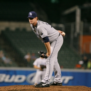 Jeff Niemann of the Tampa Bay Rays.