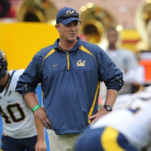 Cal head coach Jeff Tedford