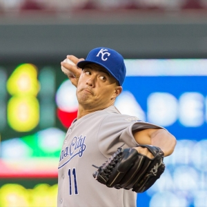 The Kansas City Royals Jeremy Guthrie