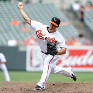 Baltimore Orioles starting pitcher Jeremy Guthrie