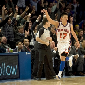 Jeremy Lin of New York Knicks