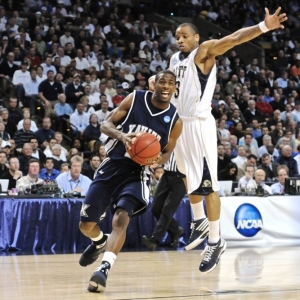 Jermaine Dixon of the Xavier Muskateers