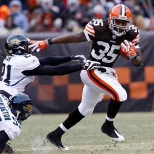 Cleveland Browns RB Jerome Harrison