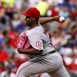 Los Angeles Angels of Anaheim Pitcher Jerome Williams