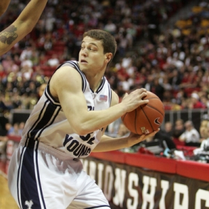 Jimmer Fredette (32) of the BYU Cougars