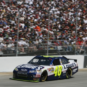 NASCAR Sprint Cup Series driver Jimmie Johnson
