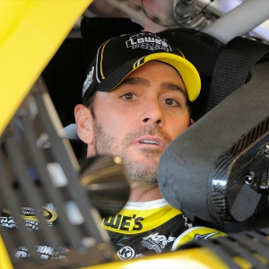 Sprint Cup driver Jimmie Johnson