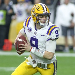 LSU Tigers quarterback Joe Burrow