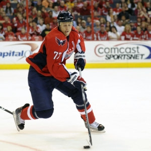 Washington Capitals defenseman Joe Corvo