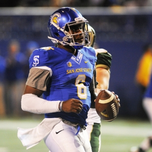 San Jose State Spartans quarterback Joe Gray