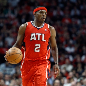 Atlanta Hawks shooting guard Joe Johnson
