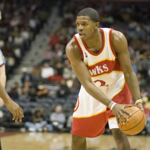 Joe Johnson of the Atlanta Hawks.