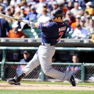 Minnesota Twins catcher Joe Mauer.