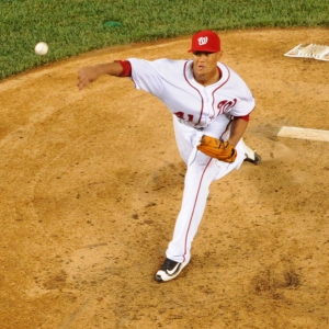 Washington Nationals starting pitcher Joe Ross