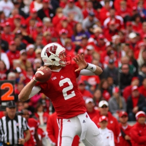 Joel Stave, quarterback of Wisconsin