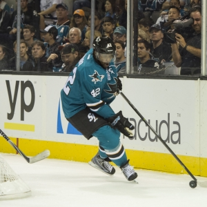Joel Ward San Jose Sharks