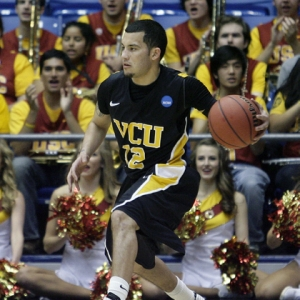 Guard Joey Rodriguez (12) of the VCU Rams