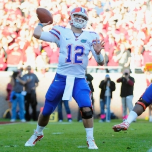 Florida Gators QB John Brantley
