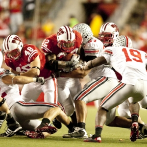 Wisconsin Badgers running back John Clay