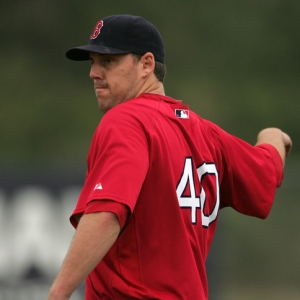 John Lackey, pitcher for the Boston Red Sox.