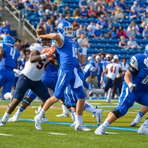 John Urzua of the Middle Tennessee Blue Raiders