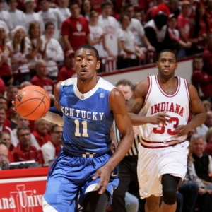 Kentucky guard John Wall (11).