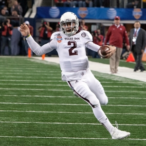 Texas A&M Aggies quarterback Johnny Manziel