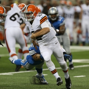Cleveland Browns quarterback Johnny Manziel