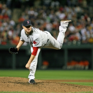 Red Sox pitcher Jon Lester.
