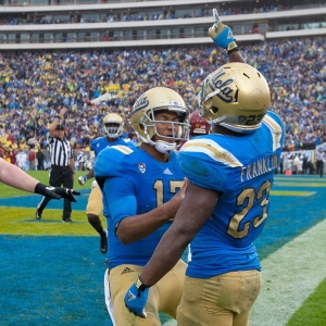 Jonathan Franklin of the UCLA Bruins