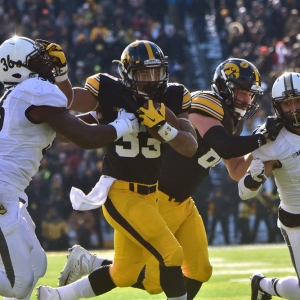 Iowa running back Jordan Canzeri