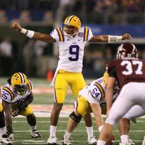 Jordan Jefferson, QB of the LSU Tigers