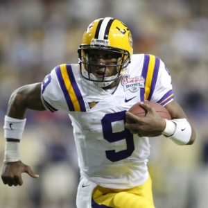 LSU QB Jordan Jefferson.
