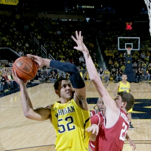 Michigan's Jordan Morgan