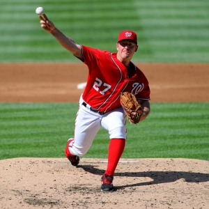 Washington Nationals starting pitcher Jordan Zimmermann
