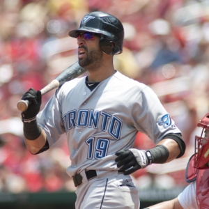 Toronto Blue Jays right fielder Jose Bautista