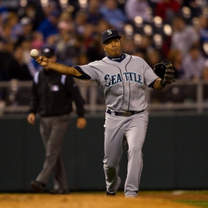 Seattle Mariners third baseman Jose Lopez