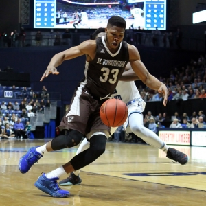St. Bonaventure Bonnies forward Josh Ayeni