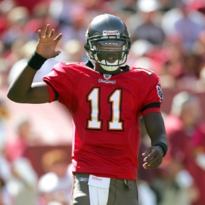 Quarterback Josh Johnson of the Buccaneers.