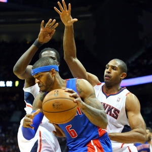 Detroit Pistons' Josh Smith