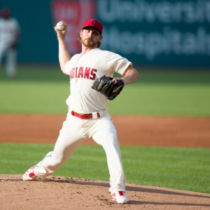 Cleveland Indians Starting pitcher Josh Tomlin