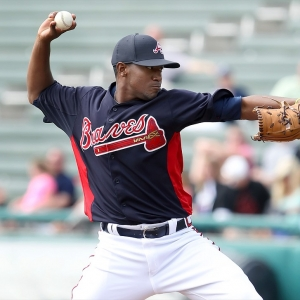 Julio Teheran of the Atlanta Braves
