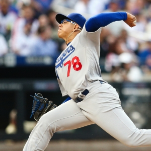Los Angeles Dodgers Starting pitcher Julio Urias