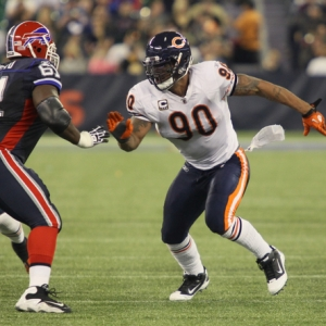Chicago Bears defensive end Julius Peppers