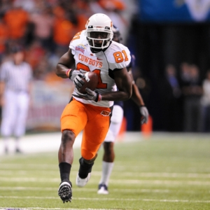 Oklahoma State Cowboys wide receiver Justin Blackmon