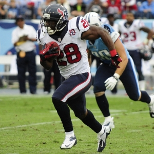 Justin Forsett of the Houston texans