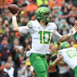 University of Oregon QB Justin Herbert