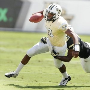 Central Florida quarterback Justin Holman