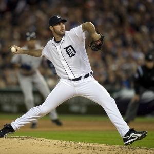 Detroit starting pitcher Justin Verlander