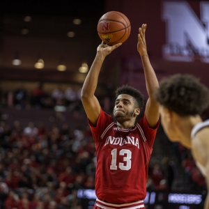 Indiana forward Juwan Morgan